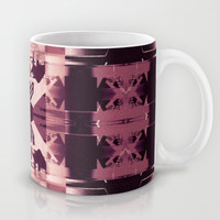 Blank chairs under the doorknobs No3 Mug by Dawid Roc