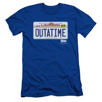 Back To The Future - Outatime Plate Short Sleeve Adult 30/1