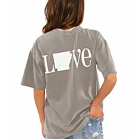Classic Arkansas State Love Spirit Tee