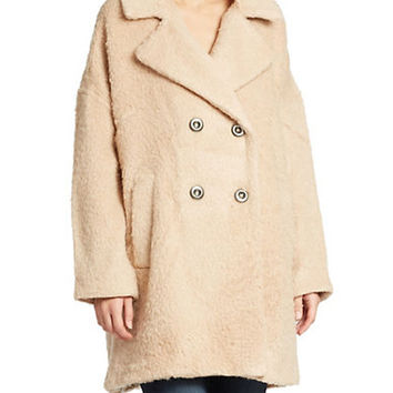 Free People Three Quarter Length Coat