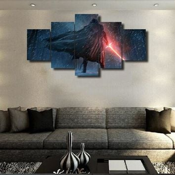 5 Panels Modular Custom Made Picture Home Room Decor Picture Canvas Paintings on Canvas Wall Art for Home Decorations Wall Frame
