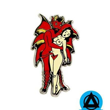 Devil Babe Pin