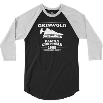 Griswold Family Christmas 3/4 Sleeve Shirt