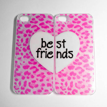 Best Friends iPhone 4/4S cases by VanityCases on Etsy