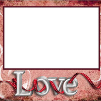 8x6 LOVE Framed Photo Matte
