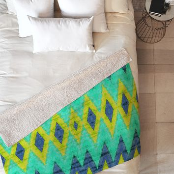 Ingrid Padilla Impress 2 Fleece Throw Blanket
