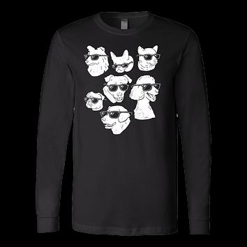 Pet - Dog Dogs - Long Sleeve T Shirt - TL00738LS