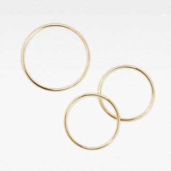 Skinny Stacking Rings - Set of 3