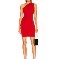 HANEY Valentina Dress in Persian Red | FWRD