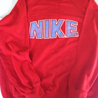 Vintage Retro Gray Tag Nike Crew Neck Sweatshirt