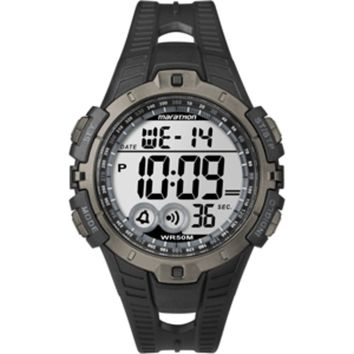 Timex Marathon Digital Full-Size Watch - Black/Gray