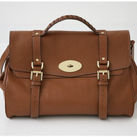 Alexa Medium(OAK Color) /Tote bags/Shoulder bags/Messenger bag/Bags & Purses/Handbags- Premium Calf Skin Leather