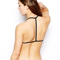 ASOS Mix and Match Moulded T Back Triangle Bikini Top