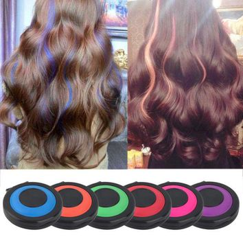 DCCKL72 2016 Non-toxic Temporary Hair Styling Soft Dye Powder Easy Wash Salon Tool Hot Selling