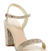 LMFON Abound | Steph Glitter Block Heel Sandal | Nordstrom Rack