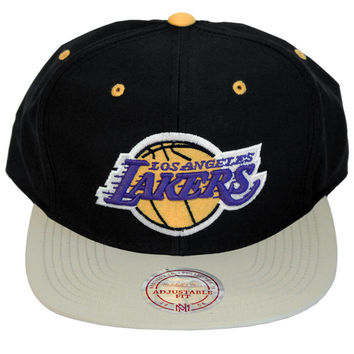 Los Angeles Lakers Butter Nylon Strapback