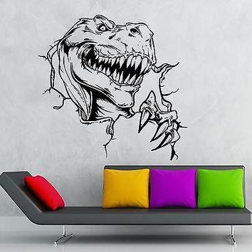 Wall Sticker Vinyl Decal Dinosaur Cool Decor for Kids Room Nursery Unique Gift (ig1847)