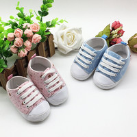 Leisure Anti-slip Toddler Shoes Baby Sneakers Retail Newest Original Brand Baby First Walkers