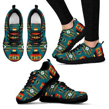 Seven Tribes Teal Sopo WOMEN'S Sneakers Tennis Shoes