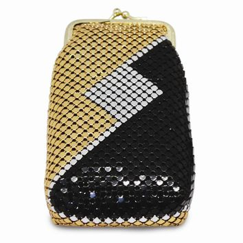 Multi-color or Silver and Gold Sequin Cigarette Case