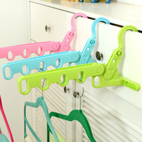 Folded Hanger Home Bathroom Hook Hanger [6395677252]