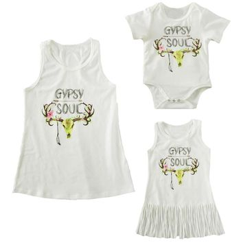 Mommy and Me Gypsy Soul Clothing Set