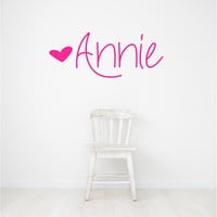 Wall Decals - Stickers - Wall Art - Wall Decor - Nursery Wall Decals - Nursery Decals - Wall Decals for Kids - Decal girl - Custom Stickers
