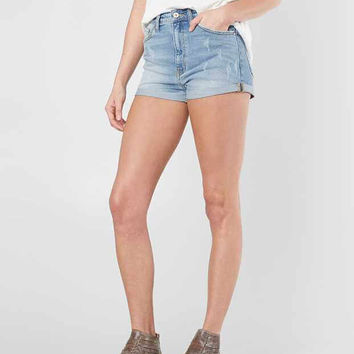 KanCan High Rise Stretch Short - Women's Shorts in Lt St | Buckle