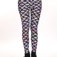 Rainbow Mermaid Leggings - 40% Off
