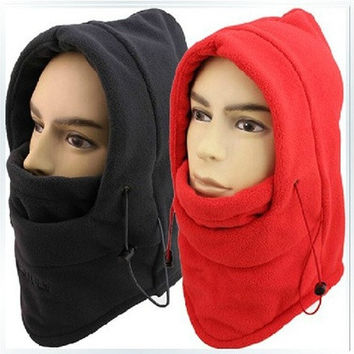 HOT winter hat for men warm fleece hat women protected face mask ski gorros hat CS outdoor riding sport snowboard cap [9221460292]