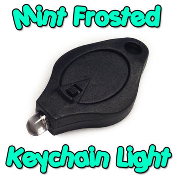 Mint Frosted Keychain Light