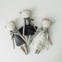 foundling no. 8 | handmade rag doll