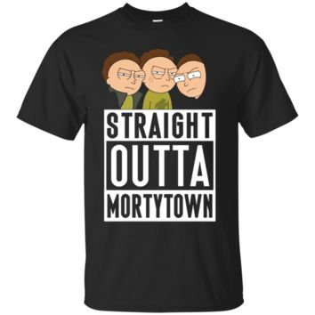 Stupendous Straight outta Mortytown - Rick and Morty T shirt - Tula Store