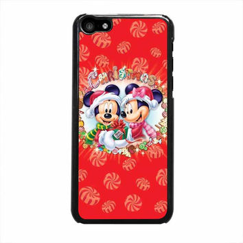 mickey and minnie mouse disney christmas iphone 5c 5 5s 4 4s 6 6s plus cases