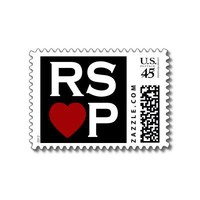 RSVP stamps from Zazzle.com