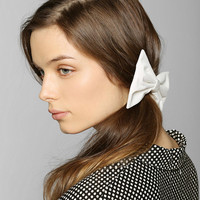 Large Bow Hair Clip - Urban Outfitters