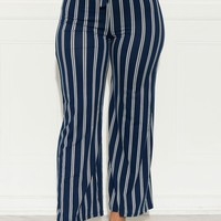 Stripes For Life Pants Navy