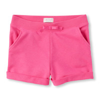 Girls Solid Knit Shorts | The Children's Place