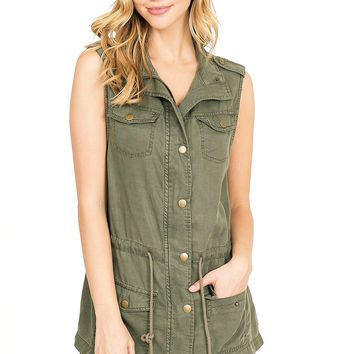 daf1d9a6562cf Best Olive Vest Products on Wanelo