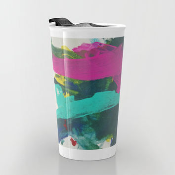 Sean's Art Travel Mug by DuckyB (Brandi)