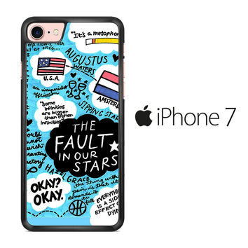 TFIOS Quotes Collage iPhone 7 Case