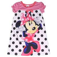 MINNIE MOUSE Girls Toddler Nightgown-mw082