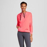 Women's Zip up Funnel Neck Pullover - Inspired Hearts(Juniors') : Target