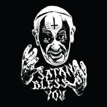 Metal Cloth Patch - Bless You