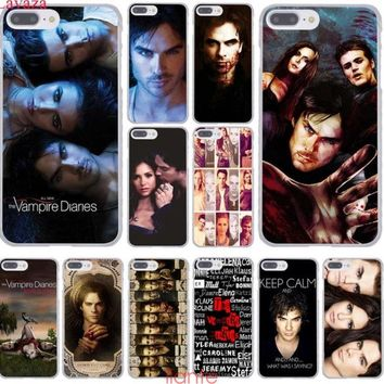 the Vampire Diaries Hard Phone Cover Case for iphone 5 6 S 7 8 plus X