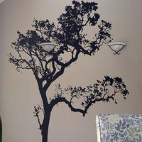 Vinyl Wall Decal Sticker Big Oak Tree #409