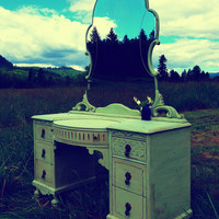 Custom Painted Vanity/Dresser/Buffet/You name it