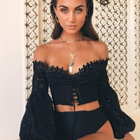 Buy Our Zimmi Top in Black Online Today! - Tiger Mist