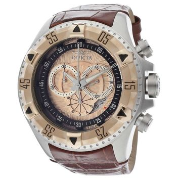 Invicta 12694 Men's Excursion Sport Rose Gold Bezel Rose Gold Dial Chronograph Dive Watch