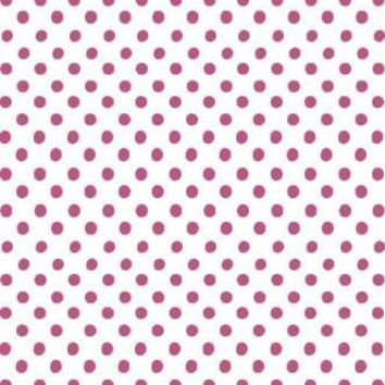 Poly Pattern White With Pink Polka Quarter Inch Dots 5x9 Background - AB885